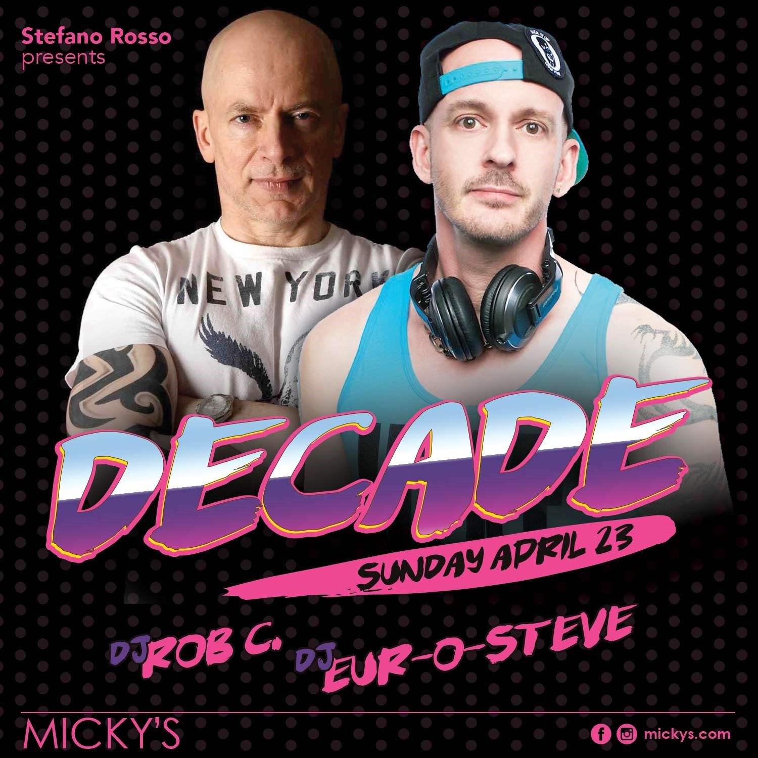 DECADE with Rob C & eur-O-steve