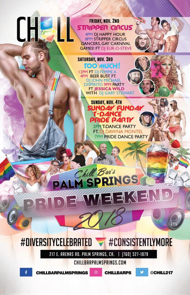 Palm Springs Pride at Chill