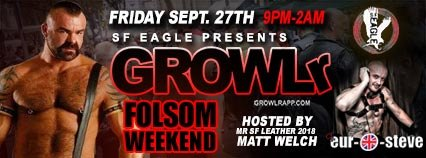 Growlr – Folsom SF